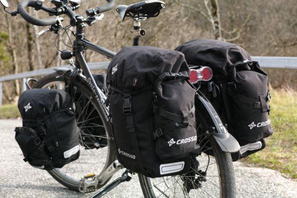 Sacoche vélo étanche Crosso.