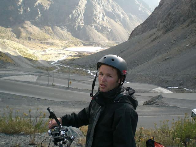 Guidon pour le voyage à vélo.