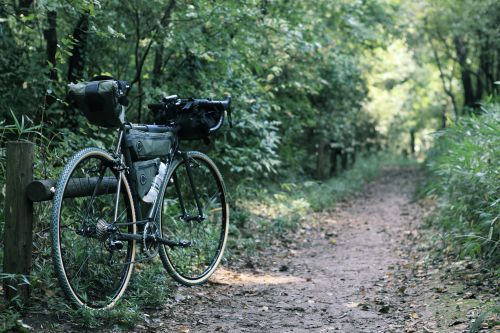 Sacoches de vélo Fairweather.