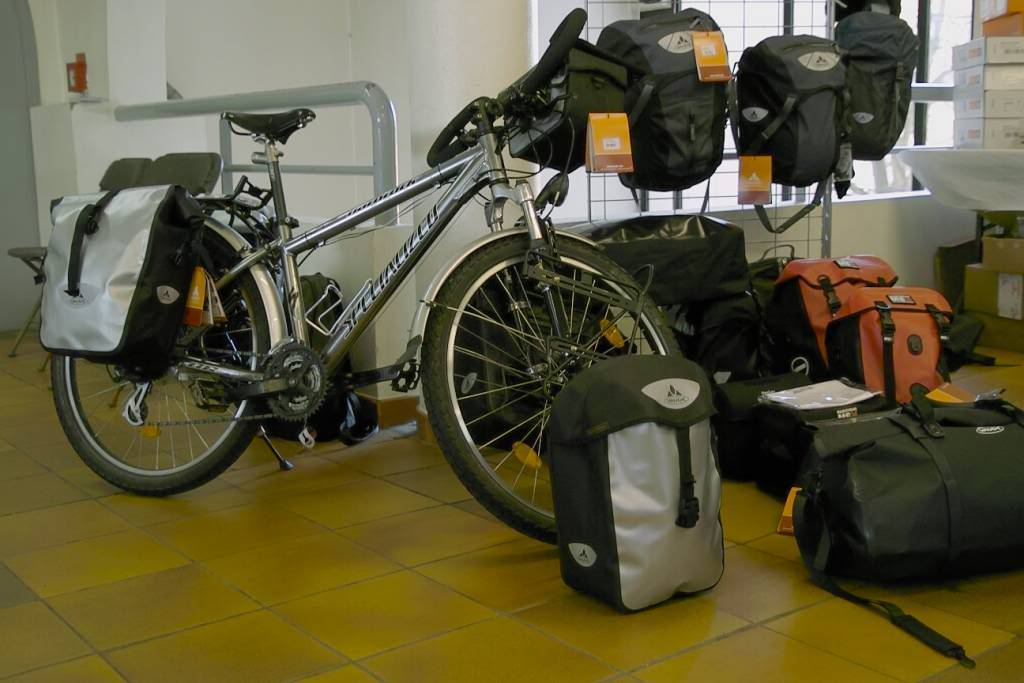 Voyage à vélo : festival cyclo-camping 2011.