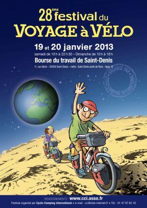 Voyage à vélo : festival cyclo-camping 2013.