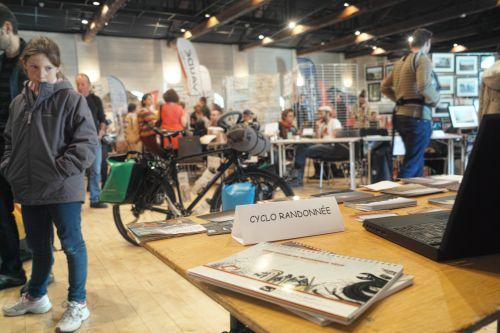 Festival du voyage à vélo de Chambery 2017.