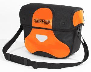 Sacoche de guidon Ortlieb Ultimate de couleur orange.
