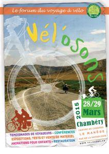 Festival du voyage à vélo 2015.