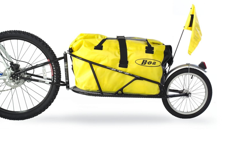 Remorque à vélo Bob Yak.