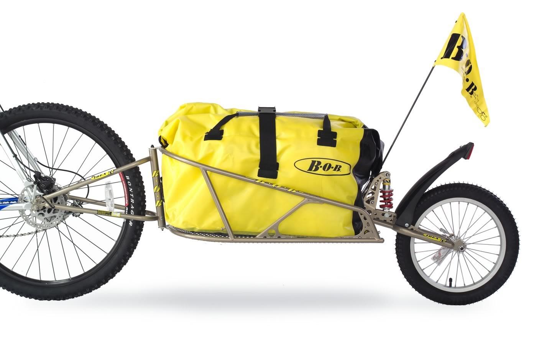 Remorque à vélo Bob Ibex.