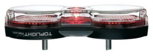 Lampe arrière Busch & Müller à LED, pour moyeu dynamo et dynamo sur flanc de pneu.