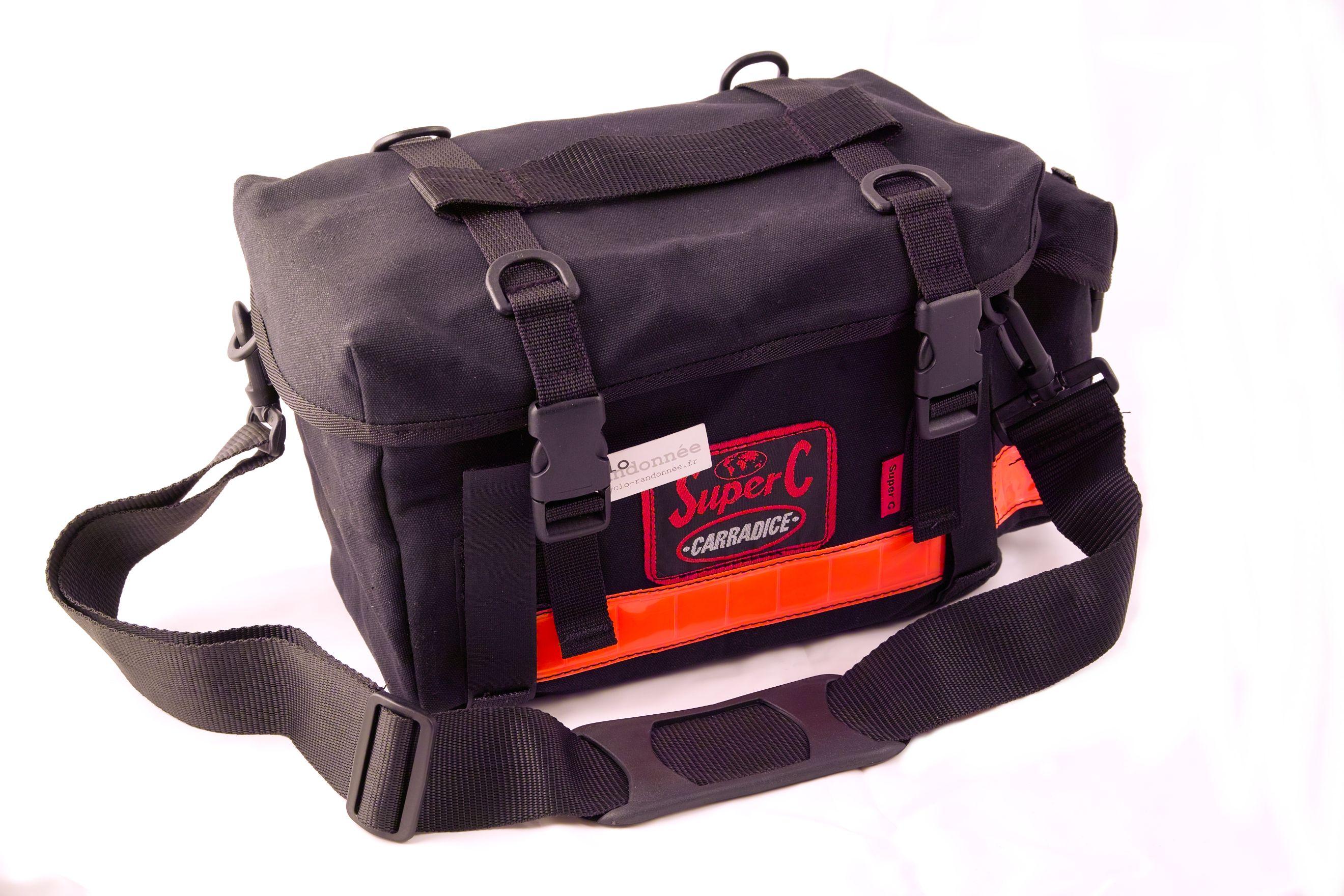 Sacoches pour plateau de porte-bagages de vélo.