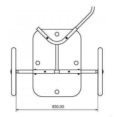 Kit d'élargissement de l'essieu Y-Frame
