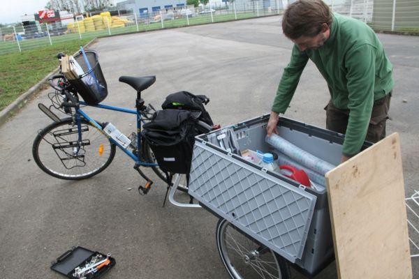 Remorque vélo Y-frame