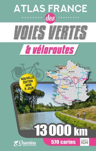 Atlas France des voies vertes et veloroutes.