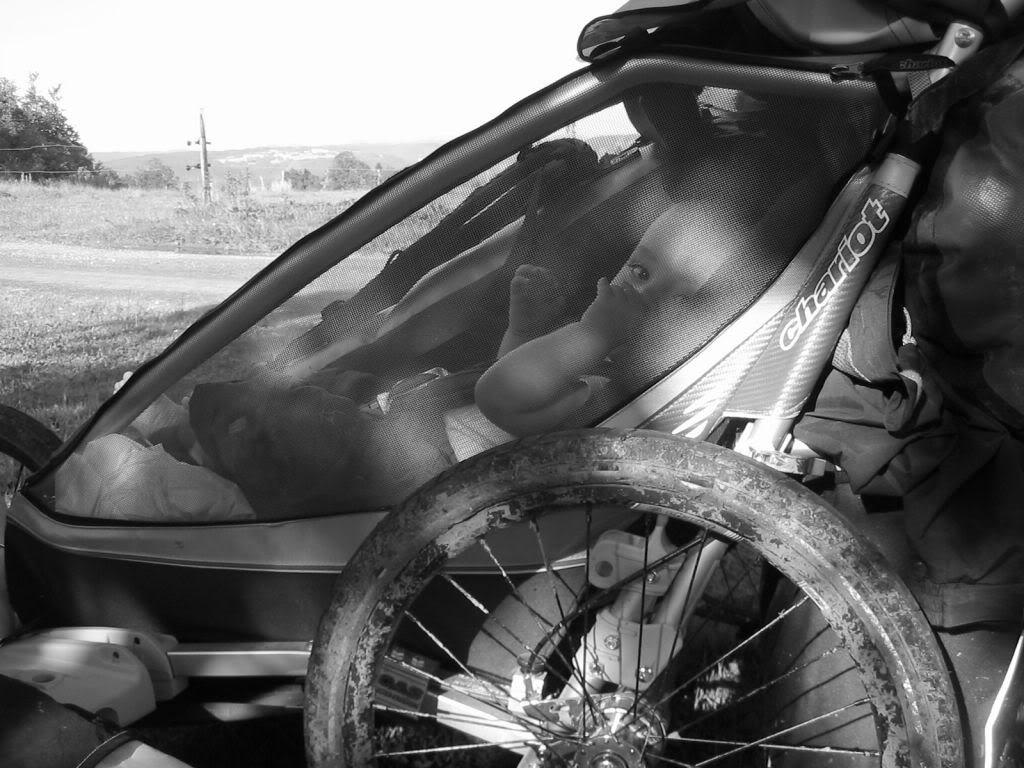 Remorque à vélo pour enfant Chariot.