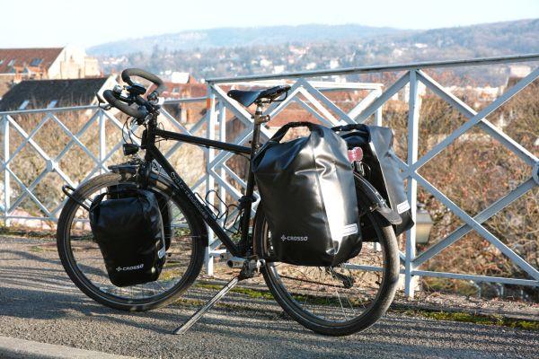 Sacoche vélo étanche Crosso Dry