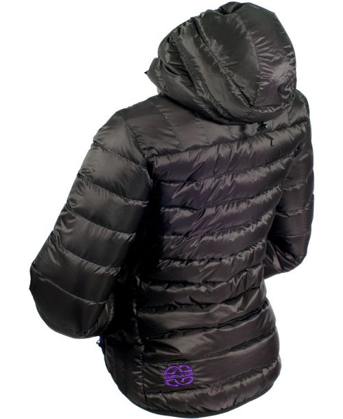 Doudoune Cumulus Incredilite Endurance Jacket Lady, couleur noire.