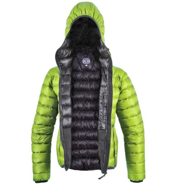 Doudoune Cumulus Incredilite Jacket, couleur verte.