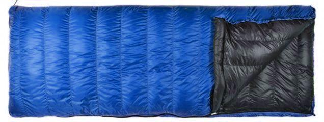 Sac de couchage Cumulus Rect 500, couleur indigo.