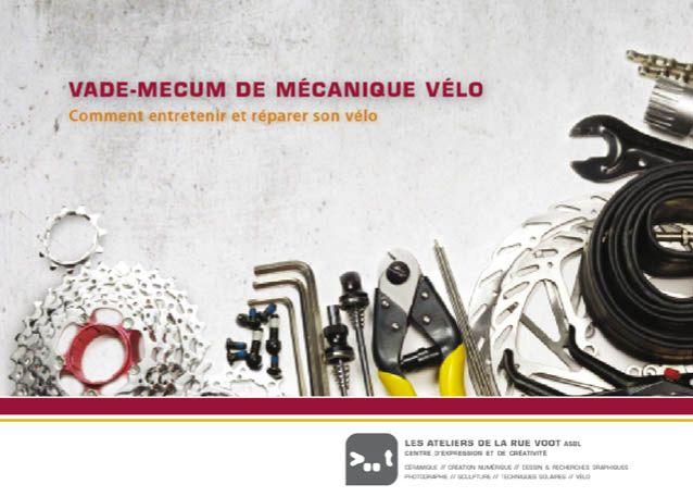 Vade-mecum de mécanique vélo.