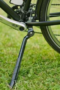 Béquille latérale Ergotec Extrem montée sur le vélo Cyclo-randonnée.