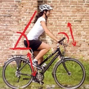 Accessoires vélo Ergotec : guidon, potence, tige de selle et corne.
