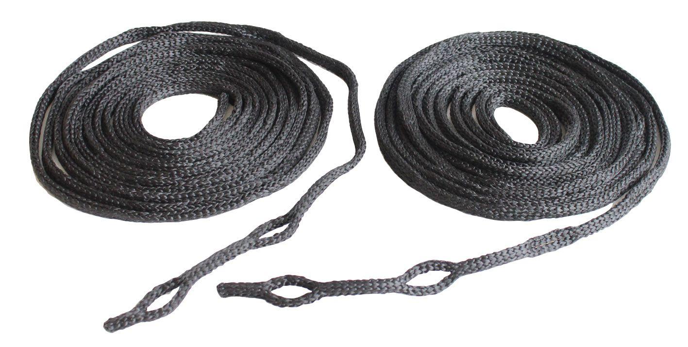 Paire de cordes fendues Exped 5 m.