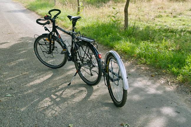 Remorque vélo Extrawheel.