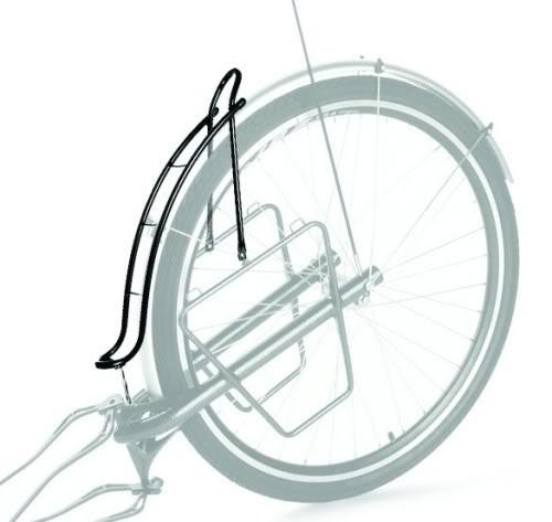 Porte-bagages pour remorque vélo Extrawheel.