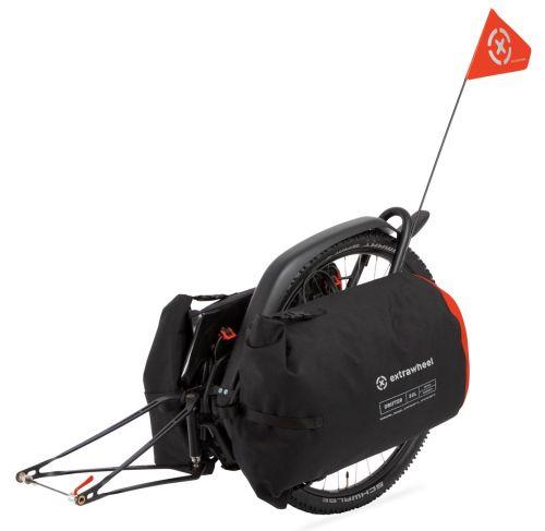 Remorque vélo Extrawheel Brave avec sacoches Drifter
