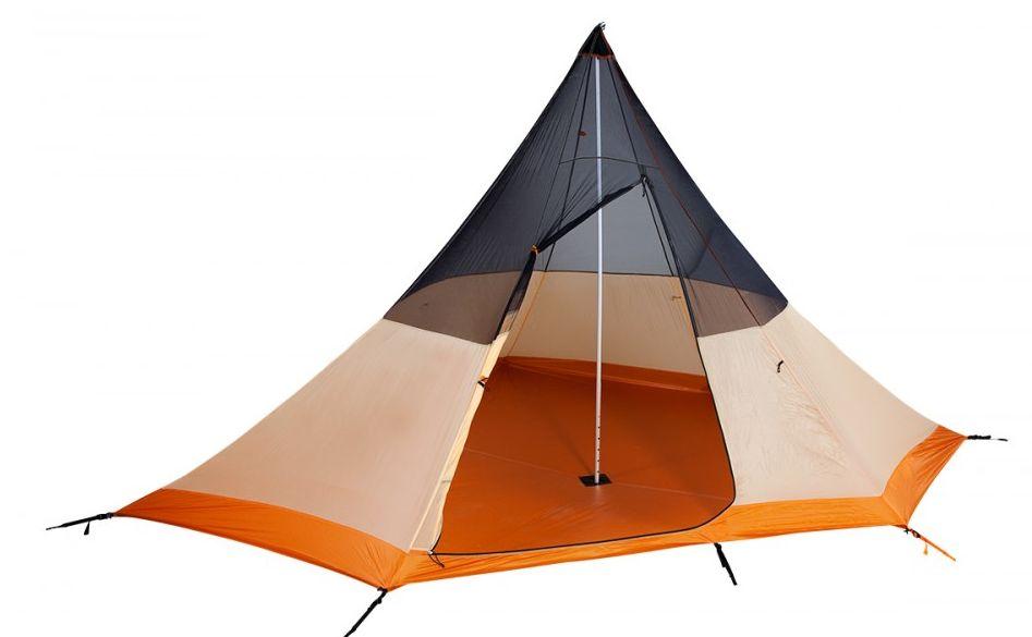 Tente ultra l g re nigor wickiup for Tente 4 chambres