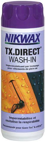 Déperlant Nikwax Tx Direct Wash-In 300 ml.