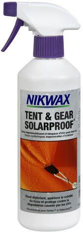Déperlant Nikwax Tent and Gear SolarProof.