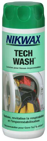 Lessive Nikwax Tech Wash 300 ml.