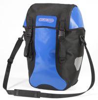 Sacoche de vélo Ortlieb Bike Packer Classic de couleur bleue.