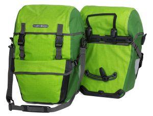 Sacoche de vélo Ortlieb Bike Packer Plus de couleur verte.