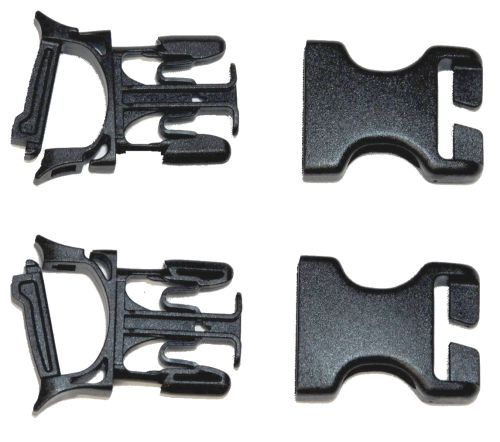 Paire de clips sans couture Ortlieb Stealth 25 mm.
