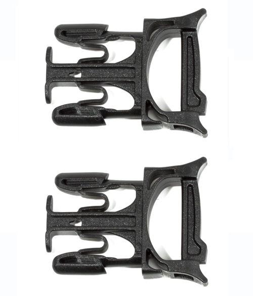 Paire de clips mâles sans couture Stealth 25 mm.