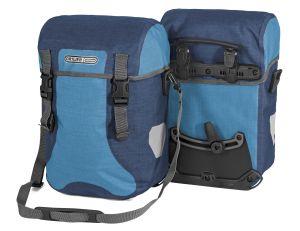 Sacoche de vélo Ortlieb Sport Packer Plus de couleur bleue.
