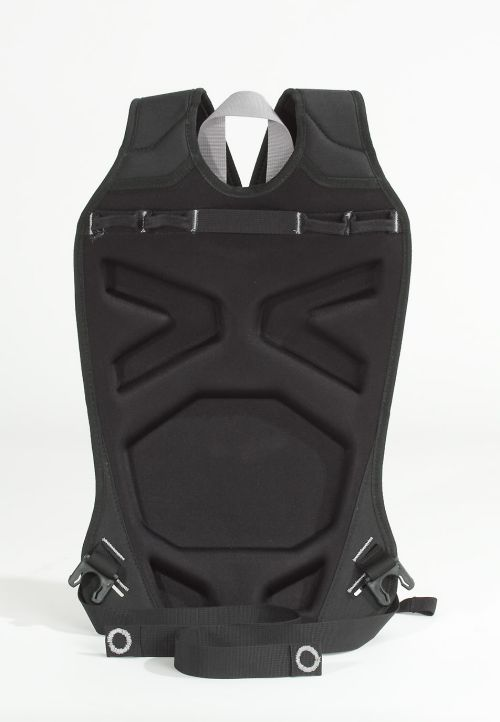 Système de portage en sac à dos Ortlieb.