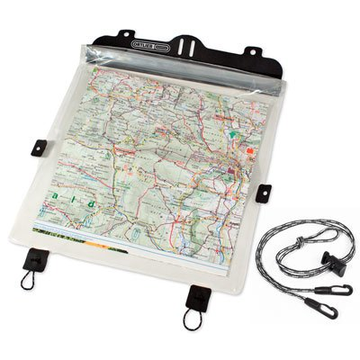 Porte-carte transparent pour sacoche de guidon Ortlieb Ultimate 6.