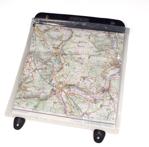 Porte-carte transparent pour sacoche de guidon Ortlieb Ultimate.