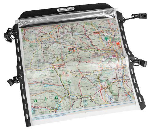 Porte-carte transparent pour sacoche de guidon Ortlieb Ultimate 2 à 6.