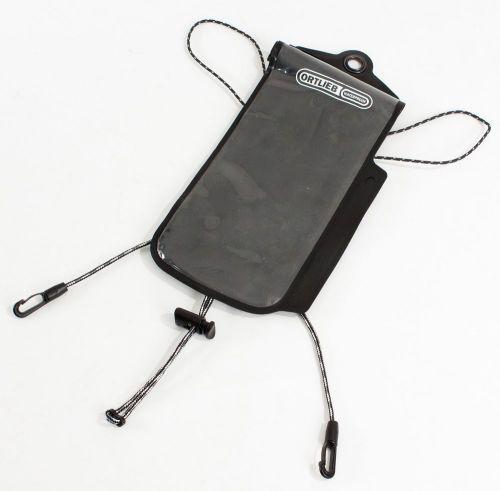 Porte-GPS transparent pour sacoche de guidon Ortlieb Ultimate 6.