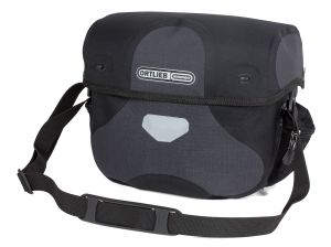 Sacoche de guidon Ortlieb Ultimate Plus de couleur grise granit.