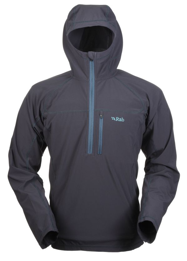 Pull coupe-vent Rab Boreas Pull-on couleur Beluga