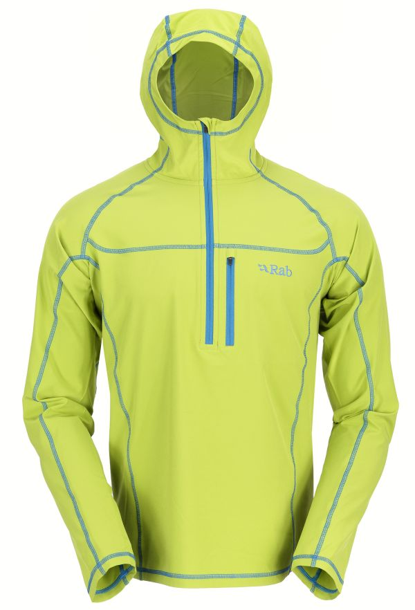 Pull coupe-vent Rab Boreas Pull-on couleur Quince
