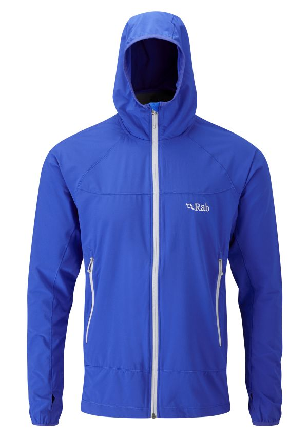 Veste coupe-vent Rab Ventus Jacket en couleur Breaker