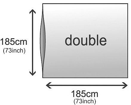 Doublure en soie Rab Double.