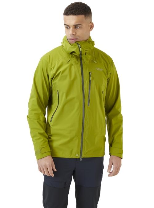 Veste étanche Rab Firewall Jacket Ascent Green