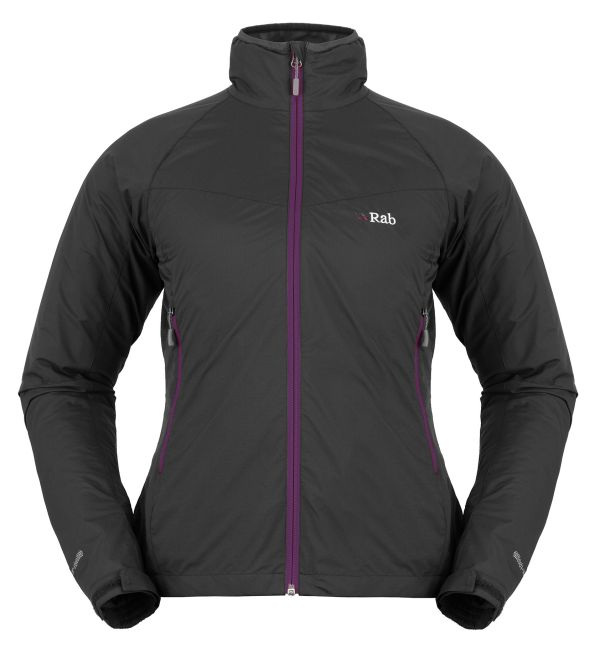 Veste coupe-vent femme Rab VR Lite Alpine Jacket couleur Beluga