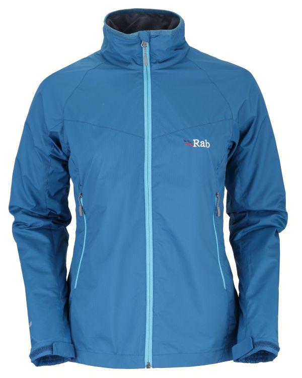 Veste coupe-vent femme Rab VR Lite Alpine Jacket couleur Merlin