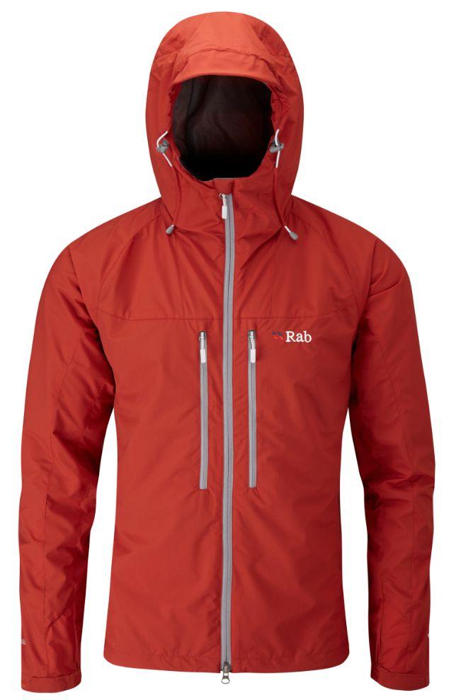 Veste coupe-vent Rab VR Lite Alpine Jacket couleur Rust